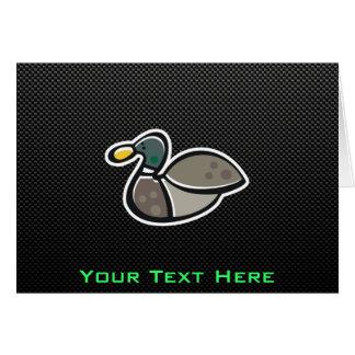 Sleek Duck Greeting Card