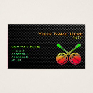 Sleek Dueling Banjos Business Card