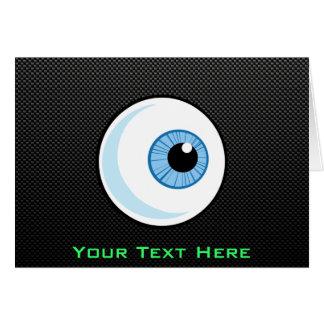 Sleek Eyeball Greeting Card