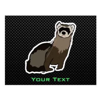 Sleek Ferret Postcard
