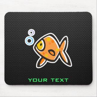 Sleek Goldfish Mouse Pads