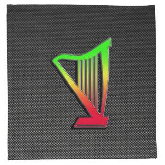 Sleek Harp Printed Napkins