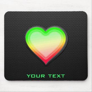 Sleek Heart Mouse Pad