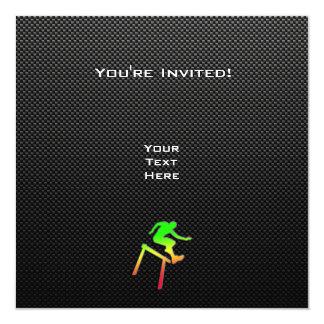 Sleek Hurdler Invitations