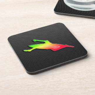 Sleek Kayaking Beverage Coaster