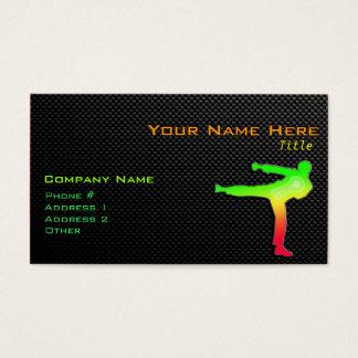 Sleek Martial Arts Business Card