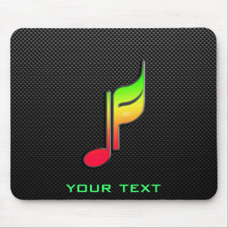Sleek Music Note Mouse Pad