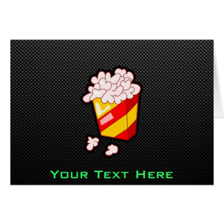 Sleek Popcorn Greeting Card