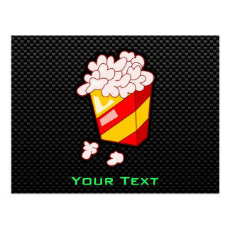 Sleek Popcorn Postcard