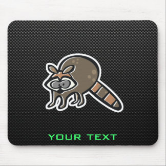 Sleek Raccoon Mouse Pad