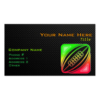 Sleek Rugby Business Card Templates