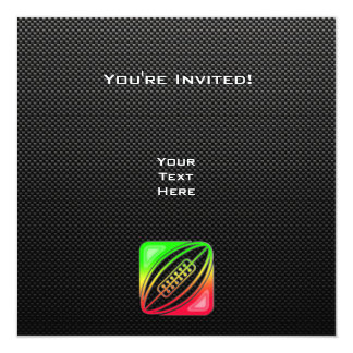 Sleek Rugby Personalized Announcements