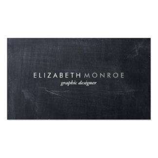 Sleek Simple Modern Chalkboard Pack Of Standard Business Cards