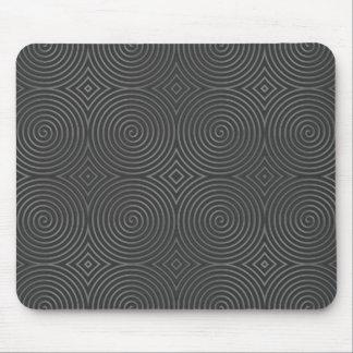 Sleek, stylish, black and white design. mouse pad