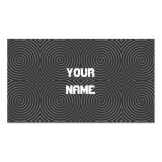 Sleek, stylish, black and white design. pack of standard business cards