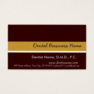 Sleek Stylish Clean  Generic Business Card