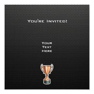Sleek Trophy Custom Invites