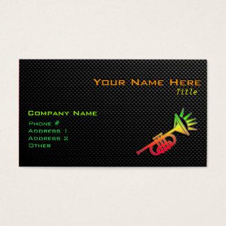 Sleek Trumpet Business Card