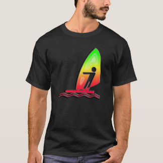 Sleek Windsurfing T-Shirt