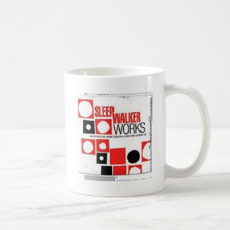 sleep basic white mug