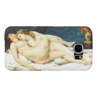 Sleep by Gustave Courbet Samsung Galaxy S6 Cases