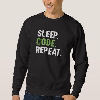 Sleep Code Repeat Sweatshirt