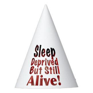 Sleep Deprived But Still Alive in FireandBrimstone Party Hat