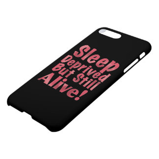 Sleep Deprived But Still Alive in Raspberry iPhone 8 Plus/7 Plus Case