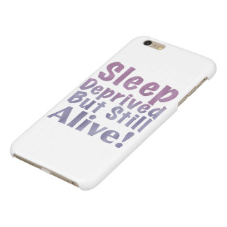 Sleep Deprived But Still Alive in Sleepy Purples