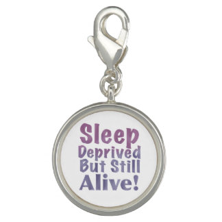 Sleep Deprived But Still Alive in Sleepy Purples Charm