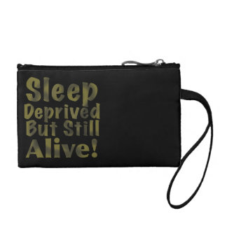Sleep Deprived But Still Alive in Yellow Coin Purse