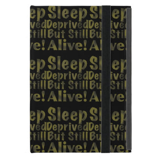 Sleep Deprived But Still Alive in Yellow iPad Mini Covers