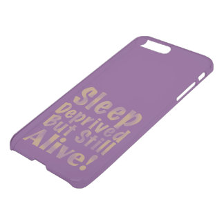 Sleep Deprived But Still Alive in Yellow iPhone 8 Plus/7 Plus Case