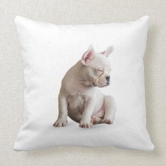 Sleep Dog Throw Pillow