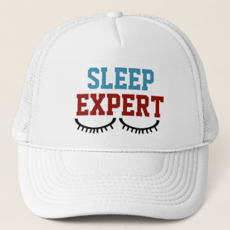Sleep Expert Trucker Hat