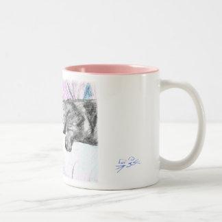 Sleep in Pink Coffee Mug