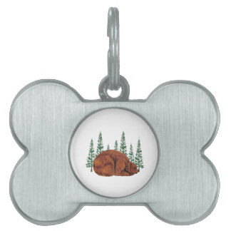 SLEEP JUST RIGHT PET NAME TAG