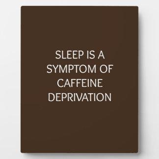 Sleep Plaque