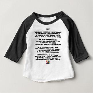 SLEEP - Poem - François Ville Baby T-Shirt