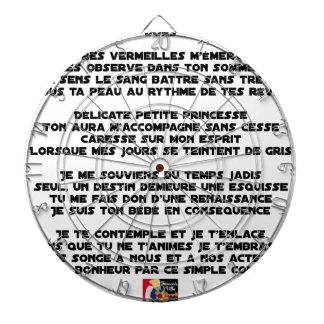 SLEEP - Poem - François Ville Dartboard