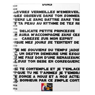 SLEEP - Poem - François Ville Notebook