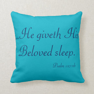 Sleep Scripture Pillow