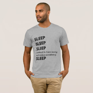 Sleep Sleep Shirt