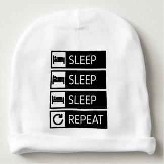Sleep Sleep Sleep Repeat Baby Beanie