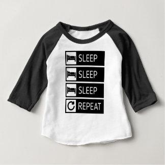 Sleep Sleep Sleep Repeat Baby T-Shirt