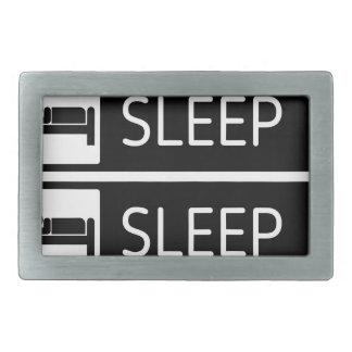 Sleep Sleep Sleep Repeat Belt Buckles