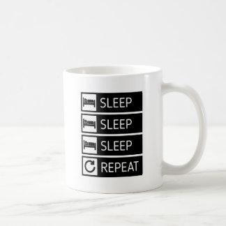 Sleep Sleep Sleep Repeat Coffee Mug