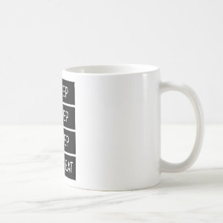 Sleep Sleep Sleep Repeat Coffee Mug