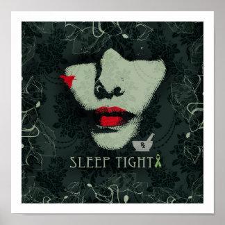 Sleep Tight Mental Health Awareness Poster