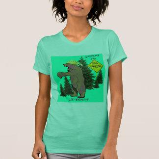 sleep walking bear T-Shirt